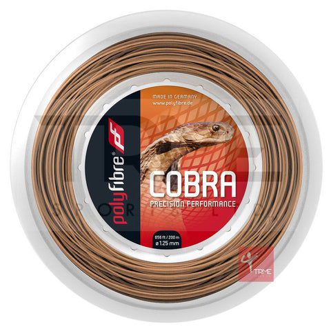Polyfibre Cobra Tennis String 200m Reel