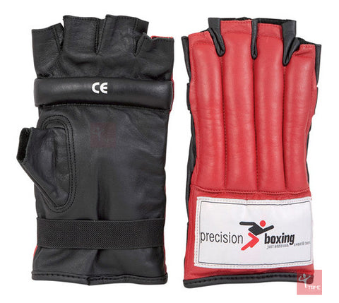 Precision Boxing Fingerless Punchbag Mitts