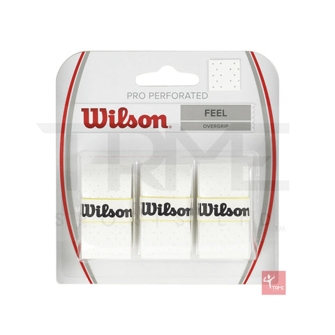 Wilson Pro Perforated Overgrip (Pack of 3)