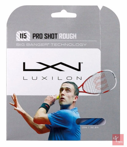 Luxilon Pro Shot Rough 18 / 1.10mm Squash String Set