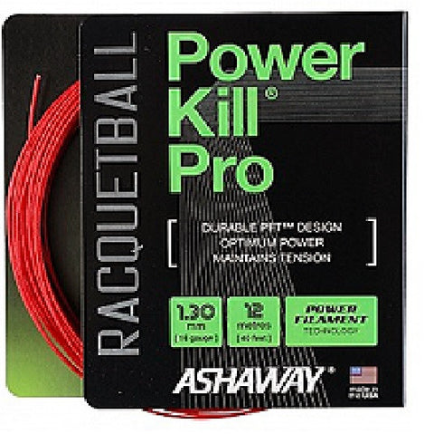 Ashaway Powerkill Pro Raquetball String Set 16 / 1.30mm