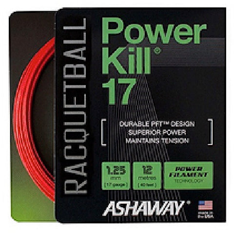 Ashaway Powerkill 17 Racquetball String Set 17 / 1.25mm