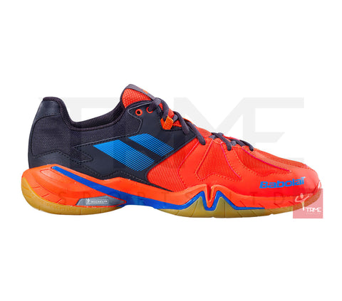 Babolat Shadow Spirit Mens Badminton Shoes - Black/Red