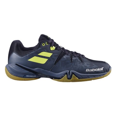Babolat Shadow Spirit Mens Badminton Shoes - Black/Monument (2020)