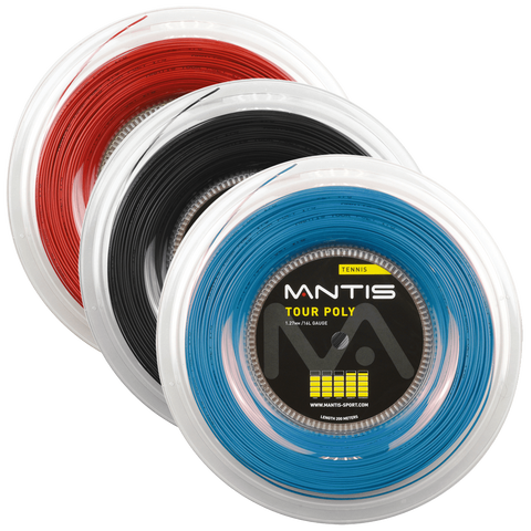 Mantis Tour Poly Tennis String 200m Reel