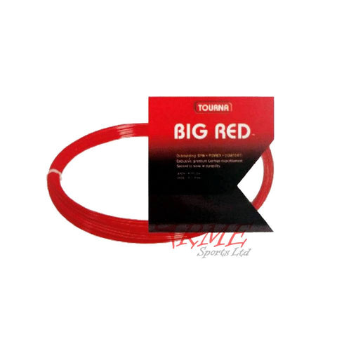 Tourna Big Red Tennis String Set (Not in Retail Packaging)