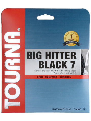 Tourna Big Hitter Black 7 Tennis String Set