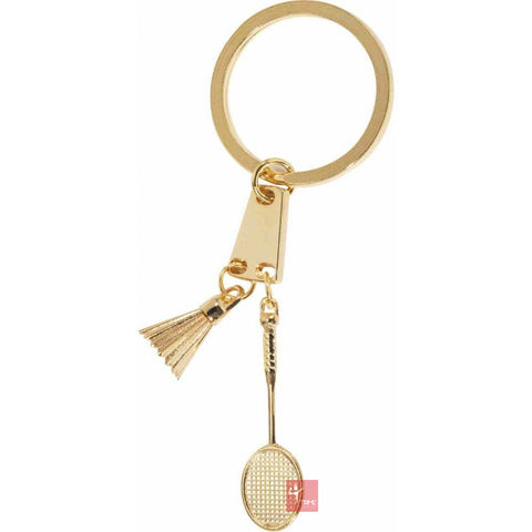 Victor Badminton Racket and Shuttle Keyring