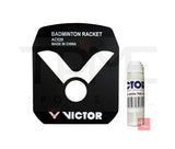 Victor Badminton Racket String Stencil and Victor Stencil Ink
