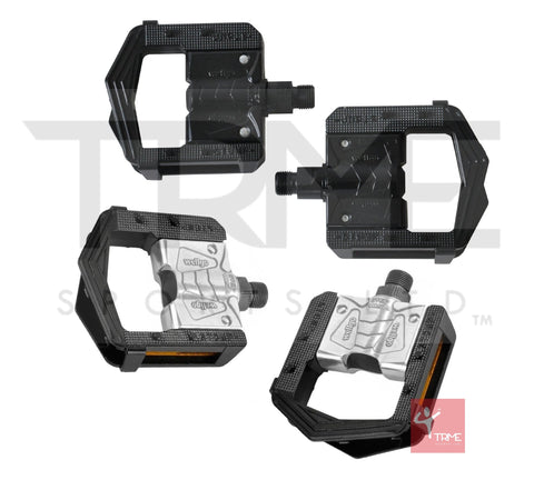 "Wellgo F265 Alloy Folding Bicycle Pedals - 9/16"" 2DU System"