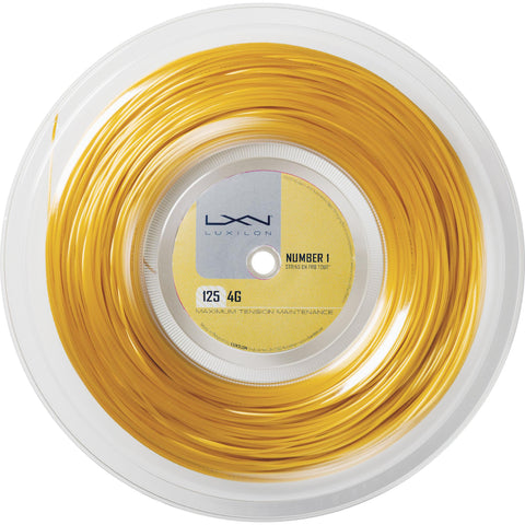 Luxilon 4G Tennis String 200m Reel