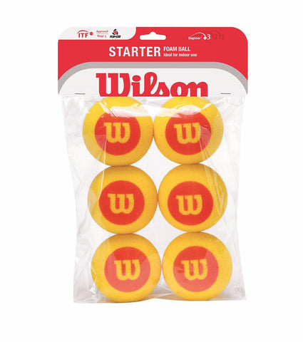 Wilson Starter Mini Red Foam Tennis Balls
