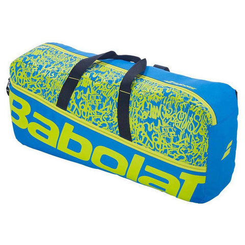 Babolat Classic Duffle M Classic Racket Bag - Blue / Yellow / Lime
