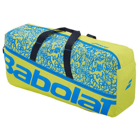 Babolat Classic Duffle M Classic Racket Bag - Yellow / Lime / Blue