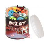 Pro's Pro Vibra Mix - Tennis Vibration Dampeners (A tub of 60 dampeners Included)