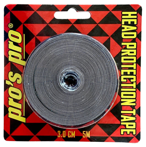 Pro's Pro Racket Head Protection Tape - 5m