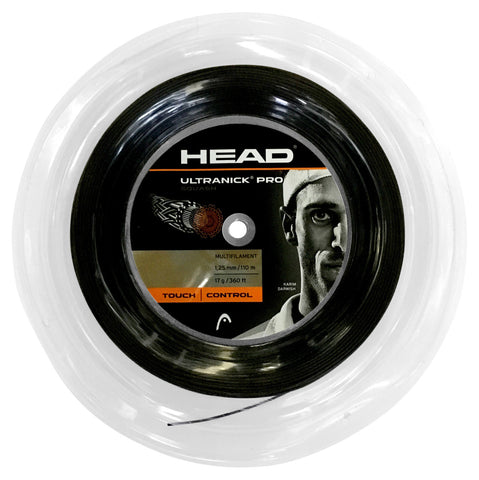 Head Ultra Nick Pro Squash String 110m Reel