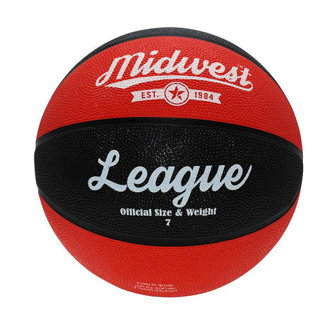 Midwest League Basketball - Red/Black