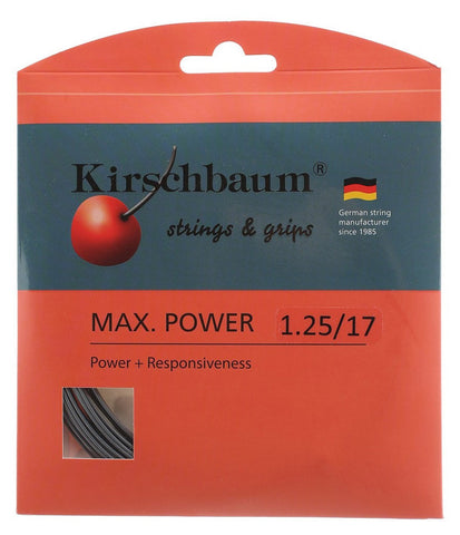 Kirschbaum Max Power Tennis String Set