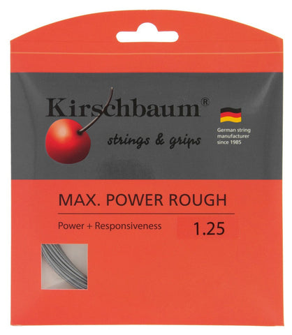 Kirschbaum Max Power Rough Tennis String Set