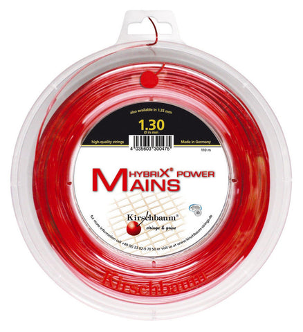 Kirschbaum Hybrix Power Mains Tennis String 110m Reel