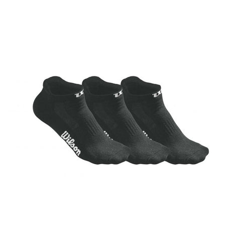 WILSON LADIES NO SHOW SOCK 3 PACK ONE SIZE