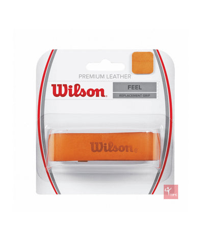 Wilson Premium Leather Tennis, Squash or Badminton Racket Grip