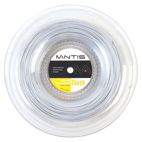 Mantis Power Polyester 17 / 1.25mm Tennis String 200m Reel