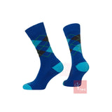 Prince Mens Off Court Socks - Ocean Crew Mixed (3 pack)