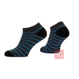 Prince Mens Off Court Socks - Ocean Low-Cut Mixed (3 pack)