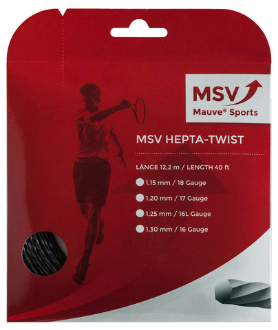 MSV Focus Hepta-Twist Tennis String Set