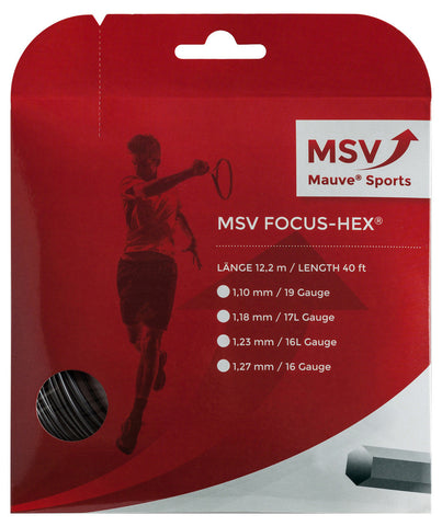 MSV Focus-Hex Tennis String Set