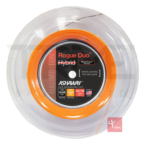 Ashaway Rogue Duo Hybrid Badminton String 200m Reel