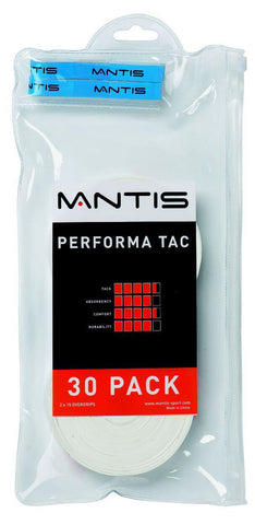 Mantis Performa Tac Overgrip - 30 Pack