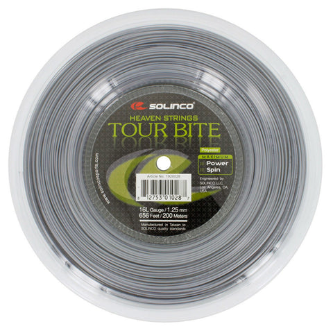 Solinco Heaven Strings Tour Bite Tennis String 200m Reel