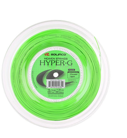 Solinco Hyper-G Tennis String 200m Reel