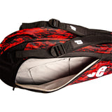 Prince Team 6 Pack Racket Bag (Black / Red)