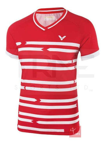 Victor Denmark Badminton Team Shirt 6618 Ladies