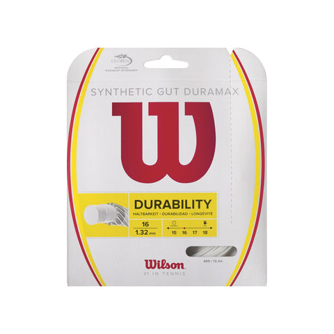 Wilson Synthetic Gut Duramax Tennis String Set
