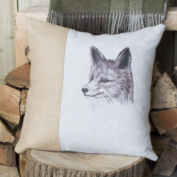 Vintage Fox Cushion