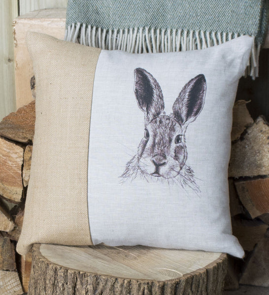 Vintage Hare Cushion