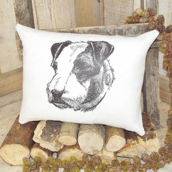 ' Airedale Terrier ' Linen Cushion