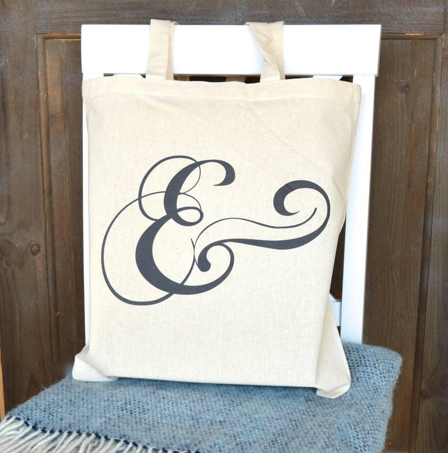 ' Ampersand ' Tote Bag