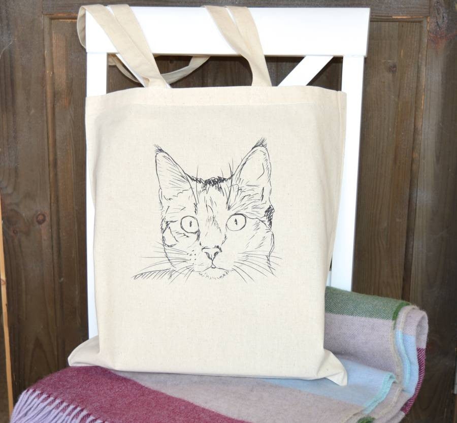 ' Cat ' Tote Bag