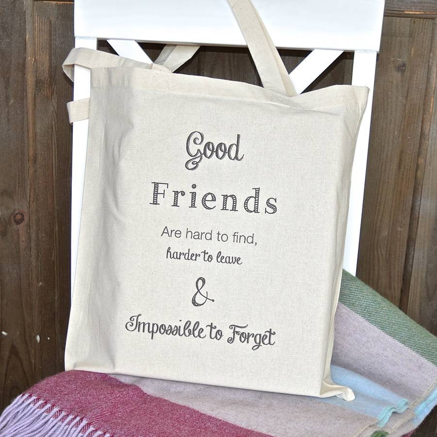 ' Good Friends ' Tote Bag