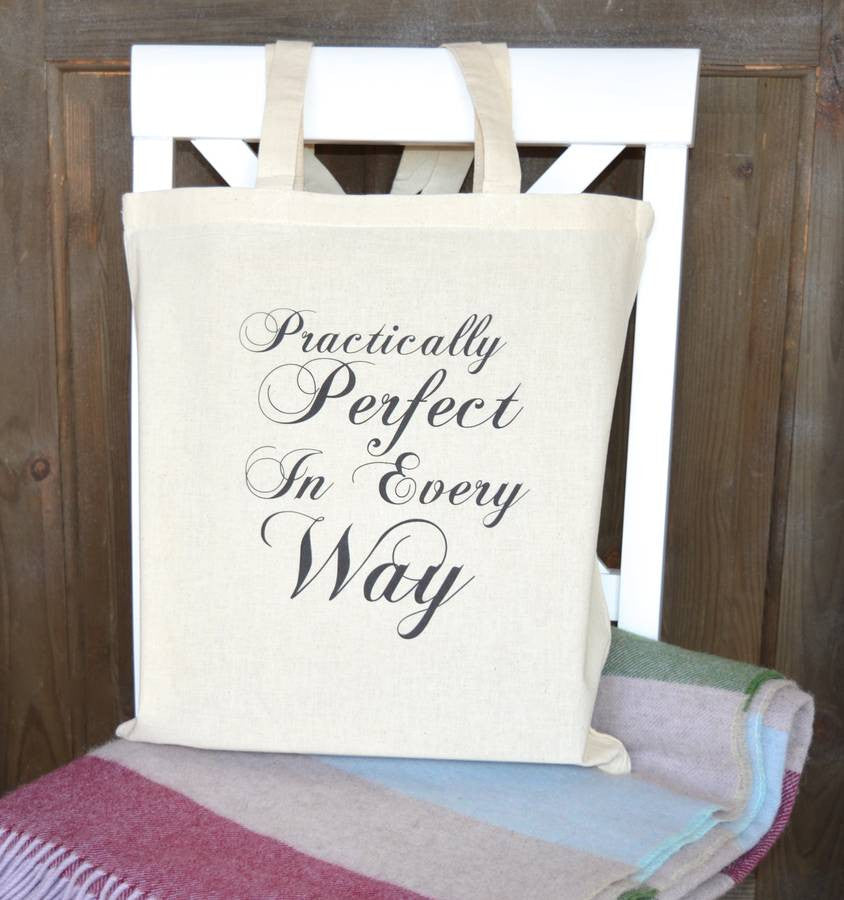 ' Practically Perfect ' Tote Bag