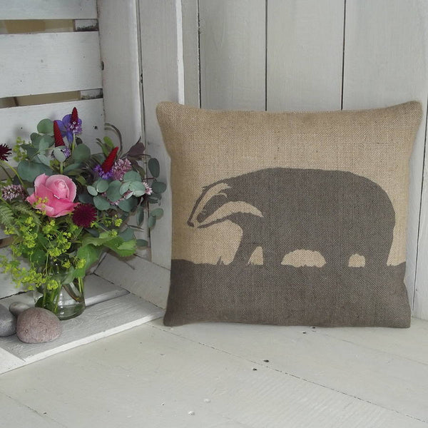 ' Badger ' Cushion