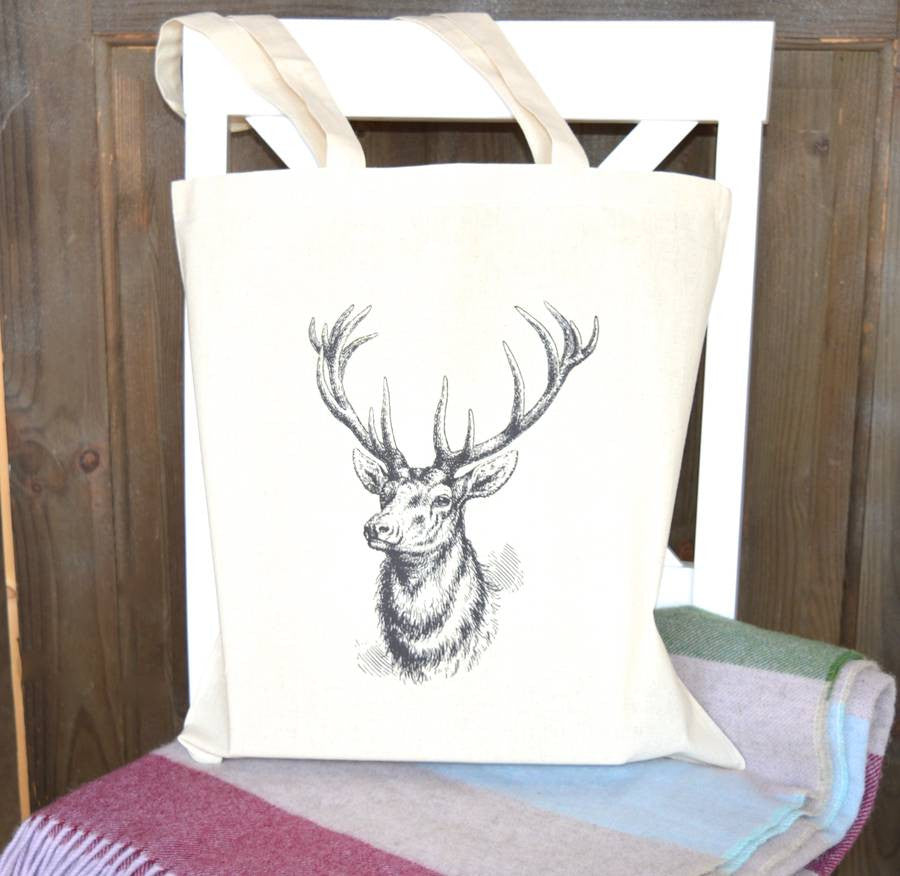 ' Stag ' Tote Bag