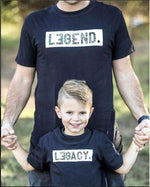 Load image into Gallery viewer, Daddy And Me Shirts - Legend And Legacy Shirts