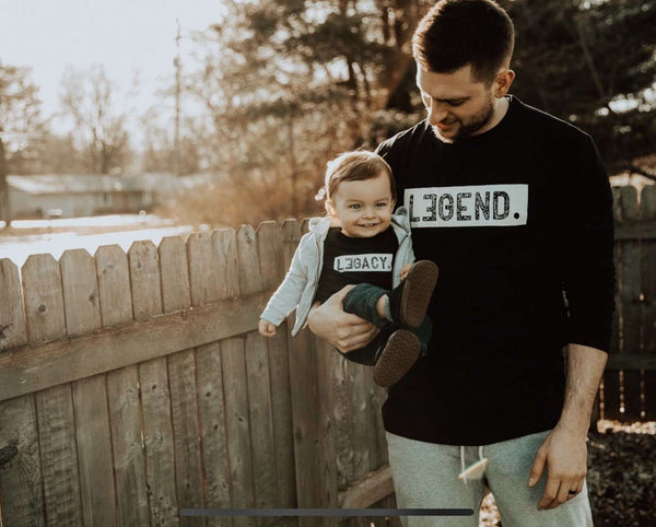 Daddy And Me Shirts - Legend And Legacy Shirts